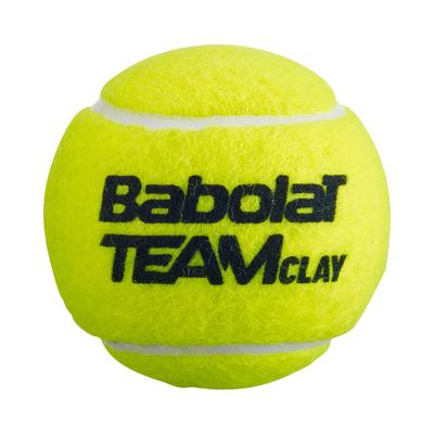 Babolat Team Clay Tennis Balls (3 Ball Can)