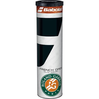 Babolat French Open Clay Court Tennis Balls (4 Ball Can) Quantity Deals