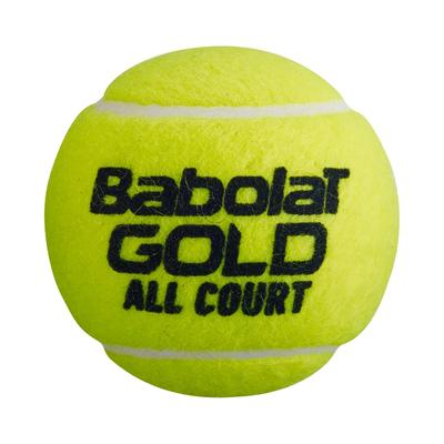 Babolat Gold All Court Tennis Balls (4 Ball Can)