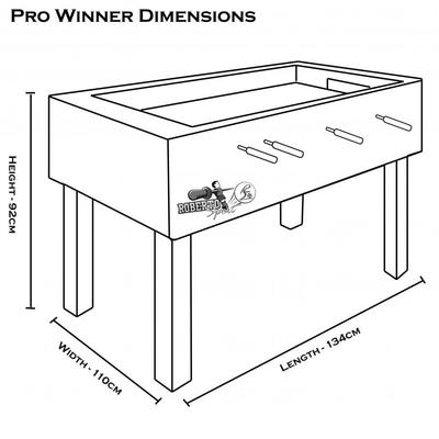 Roberto Sports Pro Winner Table Football Table