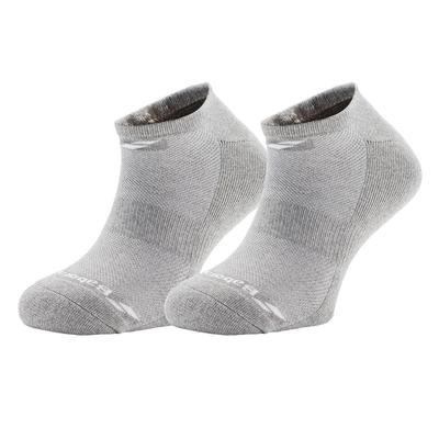 Babolat Mens Invisible Socks (2 Pairs) - Heather Grey