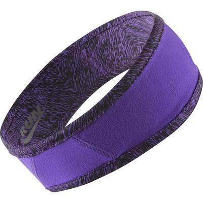 Nike Womens Run Cold Weather Reversible Headband Grape
