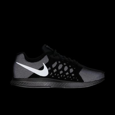 the latest ce0b7 4f1bc Nike Mens Air Zoom Pegasus+31 Flash Running Shoes - Black