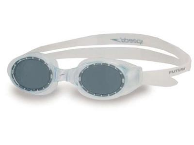 Speedo Futura Junior Swimming Goggles - Clear/Grey