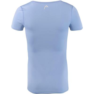 Head Girls Tech T-Shirt - Sky Blue