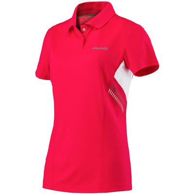 Head Girls Club Technical Polo - Red