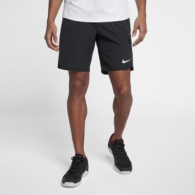 Nike Mens Flex Ace 9 Inch Shorts - Black/White