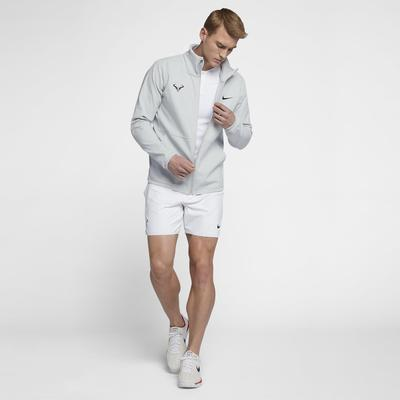 Nike Mens Rafa Tennis Jacket - Pure Platinum