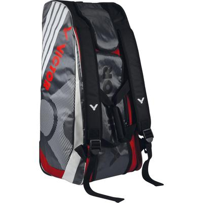 Victor Supreme Multi Thermo 9 Racket Bag (9097) - Grey/Red