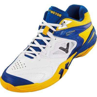 Victor Mens SH-P9200M Indoor Court Shoes - White/Blue/Yellow