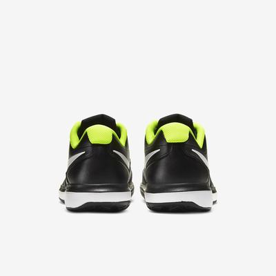 Nike Mens Air Zoom Prestige Tennis Shoes - Black/White/Volt