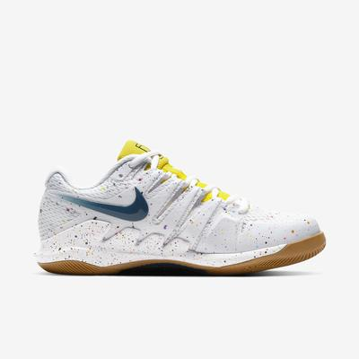 Nike Womens Air Zoom Vapor X Tennis Shoes - White/Optic Yellow