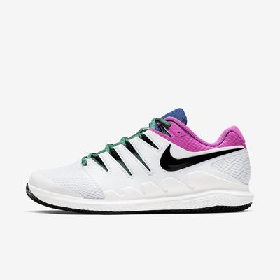 Nike Mens Air Zoom Vapor X Tennis Shoes - White/Multi-Colour
