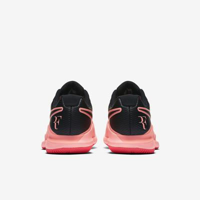 Nike Mens Air Zoom Vapor X RF Tennis Shoes - Lava Glow/Solar Red/Black