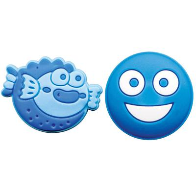 String Things Dampeners (Pack of 2) - Fish/Smiley Face