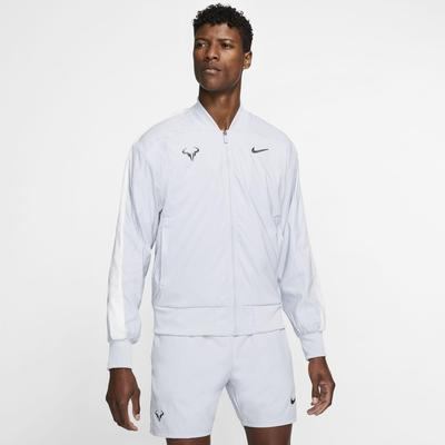 Nike Mens Rafa Tennis Jacket - Sky Grey/Gridiron