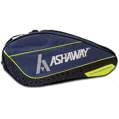 Ashaway 865 Double Racket Bag - Blue/Lime/Black