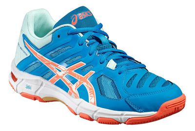 Asics Womens GEL-Beyond 5 Indoor Court Shoes - Blue Jewel