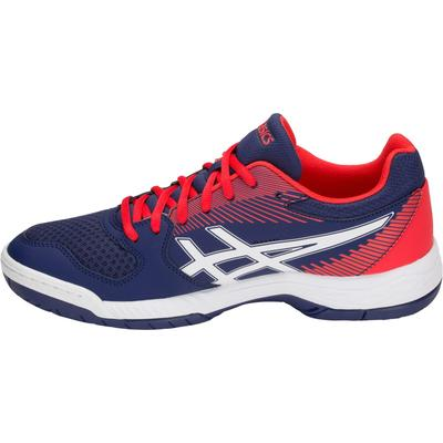 Asics Mens GEL-Task Indoor Court Shoes - Blue Print/Red/White