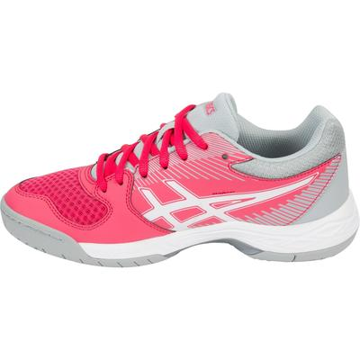 Asics Womens GEL-Task Indoor Court Shoes - Rouge Red/Grey
