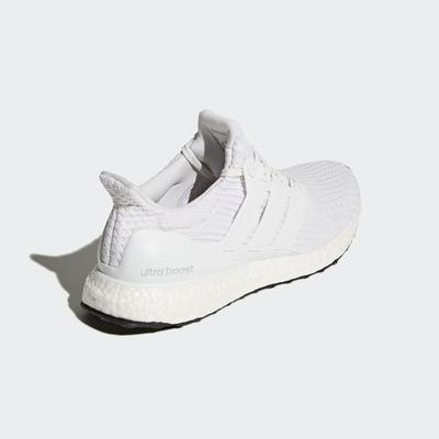Adidas Mens Ultra Boost Running Shoes - White/Black