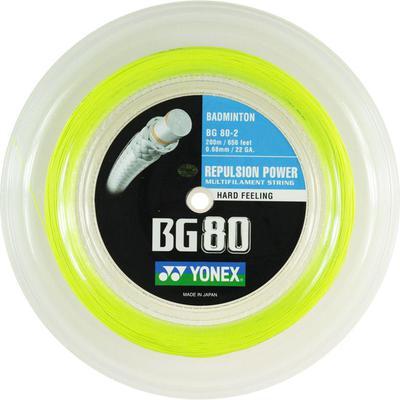 Yonex BG80 200m Badminton String Reel - Choose Colour ...