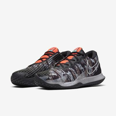 Nike Mens Air Zoom Vapor Cage 4 Tennis Shoes - Photon Dust/Black