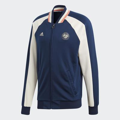 Adidas Mens Roland Garros Jacket Collegiate Navy