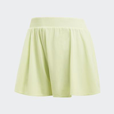 Adidas Womens Melbourne Hosenrock Shorts - Semi Frozen Yellow