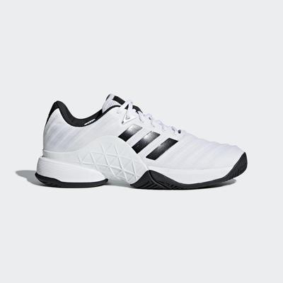Adidas Mens Barricade 2018 Tennis Shoes - White