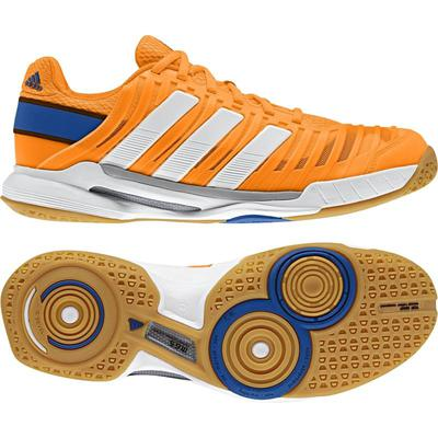 Adidas Mens adiPower Stabil 10.1 Indoor Shoes - Orange/White