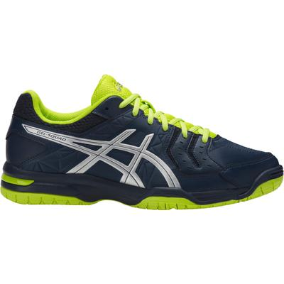 Asics Mens GEL-Squad Indoor Court Shoes - Blue/Energy Grey/Green