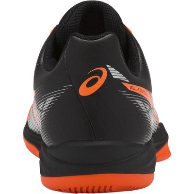 Asics Mens GEL-Fastball 3 Indoor Court Shoes - Black/Shocking Orange
