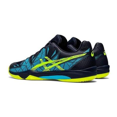 Asics Mens GEL-Fastball 3 Indoor Court Shoes - Peacoat/Safety Yellow