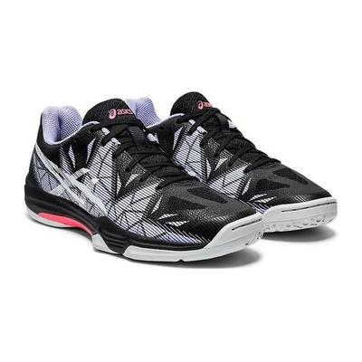 Asics Womens GEL-Fastball 3 Indoor Court Shoes - Black/White