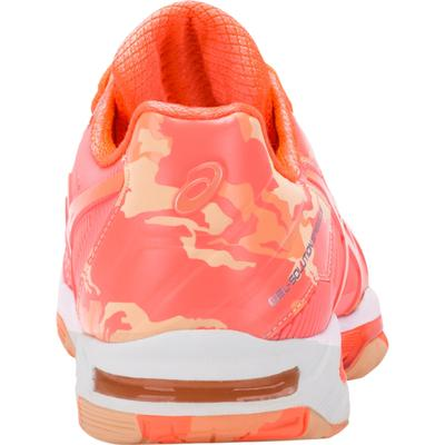 Asics Womens GEL-Solution Speed 3 Limited Edition Tennis Shoes - Coral/Camo