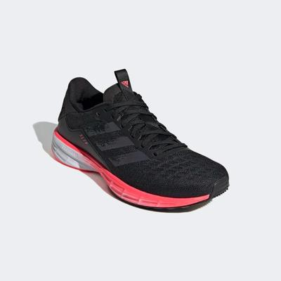 Adidas Womens SL 20 Running Shoes - Core Black/Signal Pink