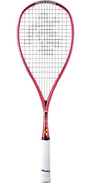 Black Knight Ion Cannon Squash Racket - Red