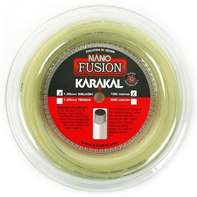 Karakal Nano Fusion 125 (100m) Squash String Reel (Choose Colour)