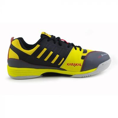 Karakal Mens Pro Xtreme Indoor Court Shoes - Yellow