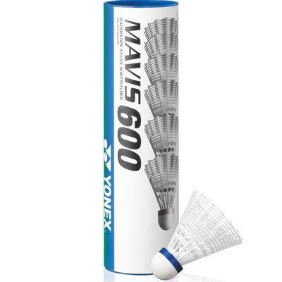 Yonex Mavis 600 Shuttles (3 Speeds) (White/Yellow)