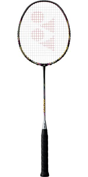 Yonex Nanoray 800 Badminton Racket - Black/Magenta
