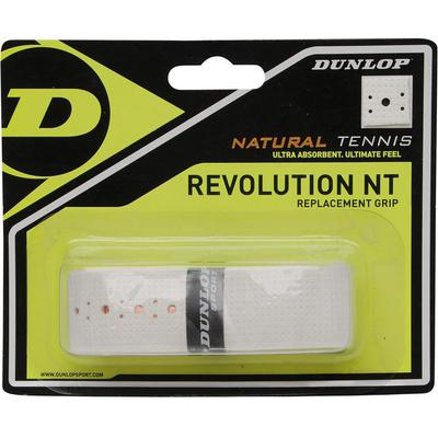 Dunlop Revolution Natural Tennis Replacement Grip - White