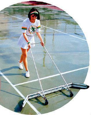 Dry Court Tennis Ball Sweeper