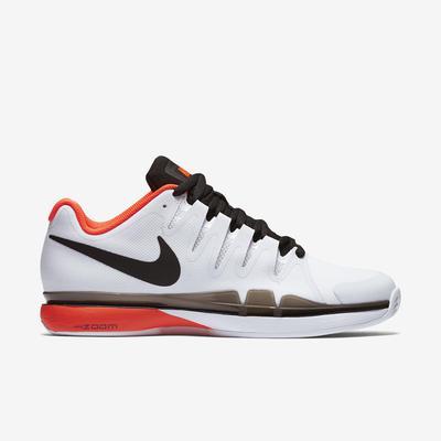 70d93139fec2 Nike Mens Zoom Vapor 9.5 Tour Clay Court Tennis Shoes - White Crimson