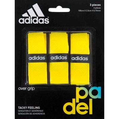 Adidas Padel Overgrip (Pack of 3) - Yellow