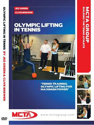 Olympic Lifting in Tennis DVD by Jez Green & Clive Brewer