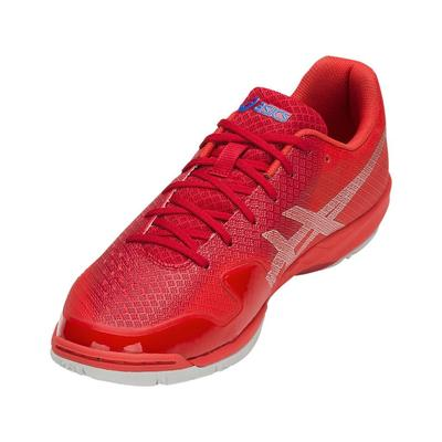 Asics Mens GEL-Blade 6 Speed Indoor Court Shoes - Samba/Silver