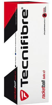 Tecnifibre Racketball Ball - Black (Tube of 3 Balls)