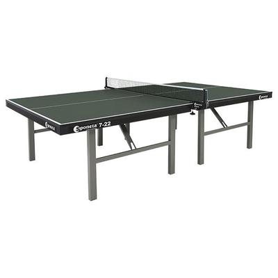 Sponeta Pro Competition 25mm Indoor Table Tennis Table - Green